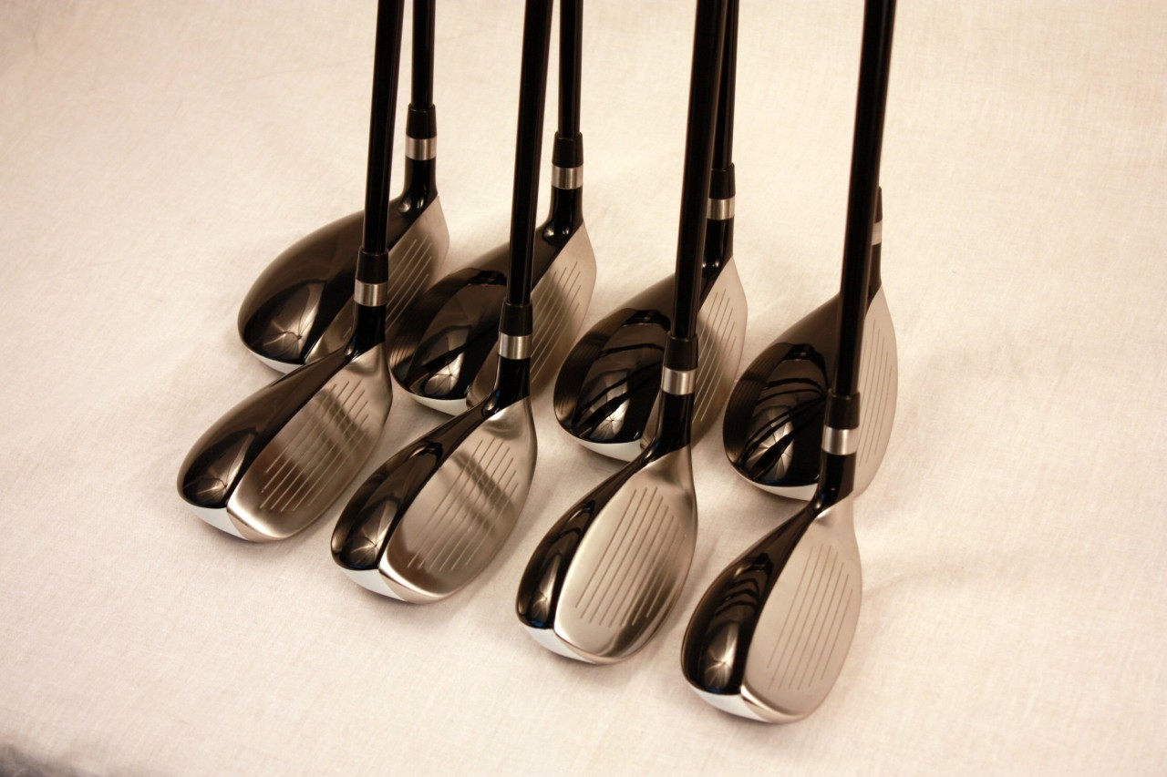 new custom made senior a all hybrids golf irons 3 pw set. Black Bedroom Furniture Sets. Home Design Ideas