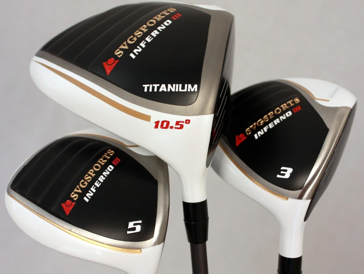 Custom Made Inferno Regular Flex Driver 3 5 Wood Golf