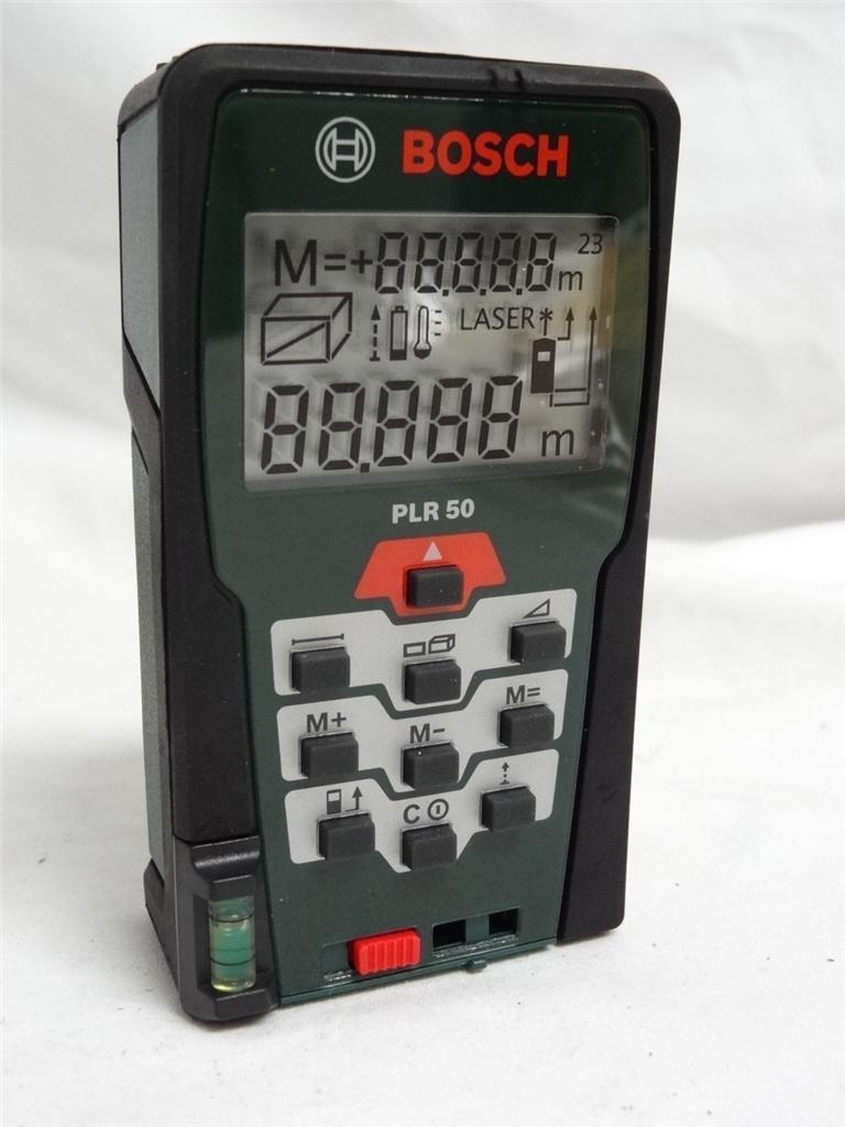 bosch laser distance range finder plr 50 new ebay. Black Bedroom Furniture Sets. Home Design Ideas
