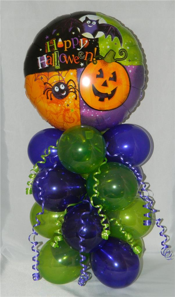 Halloween balloon display decoration party gift free1st for Balloon decoration classes