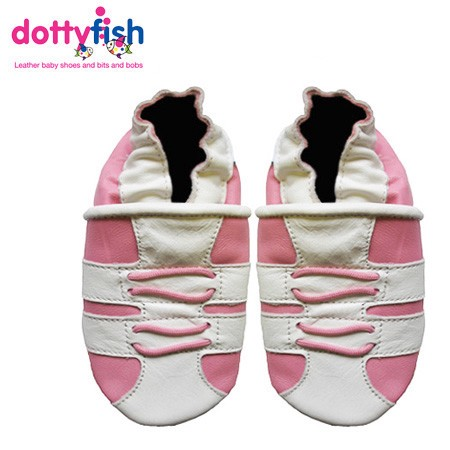 NEW-SOFT-LEATHER-BABY-SHOES-BY-DOTTY-FISH-GIRLS-0-6-6-12-12-18-18-24-MTHS