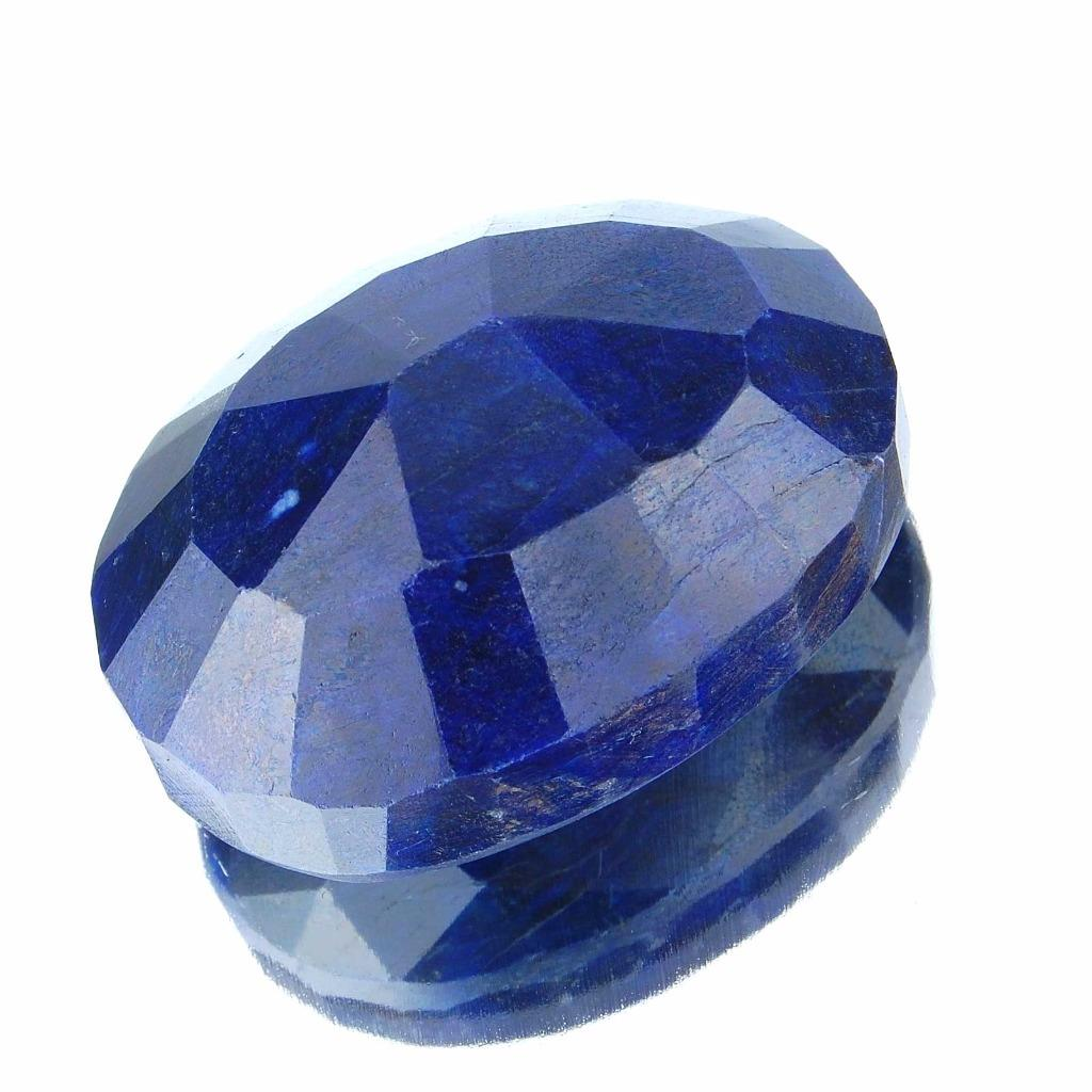 375 cts certified top blue sapphire pendant size