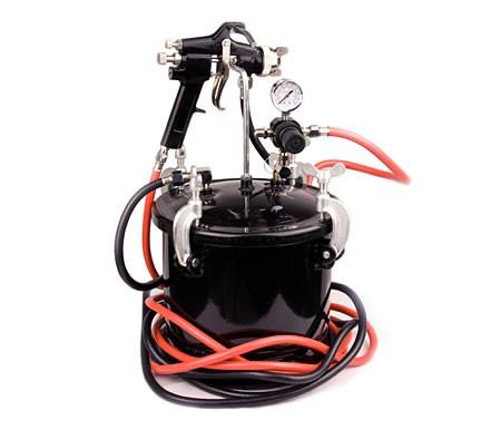 10l pressure tank pot house paint spray gun sprayer for. Black Bedroom Furniture Sets. Home Design Ideas