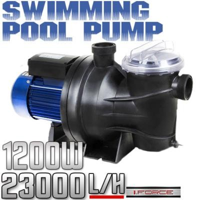 1 5hp Swimming Pool Spa Filter Water Pump 1200w 1 5 Hp Motor 40mm In Outlets New Ebay