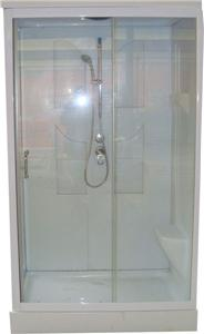 1200x800 shower mixer cubicle enclosure tray pod cabin all in one unit. Black Bedroom Furniture Sets. Home Design Ideas