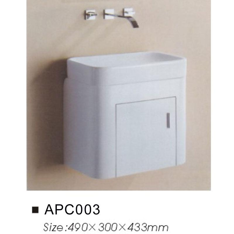 Compact Space Saving White Bathroom Vanity Unit And Basin Furniture Sink Sets Ebay
