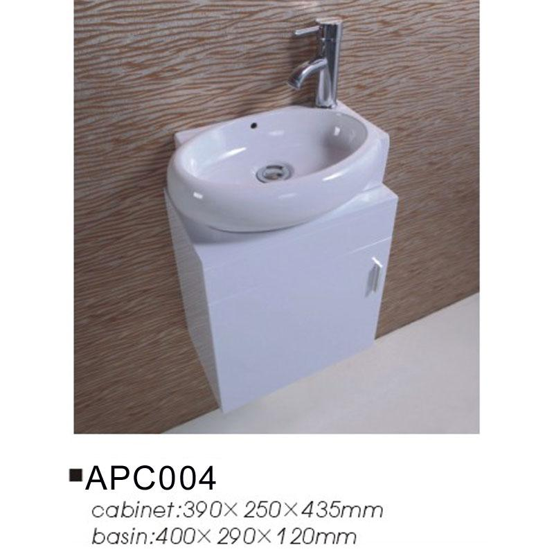 46. ... Space Saving White Bathroom Vanity Unit And Basin Furniture  Sink Sets Part 63