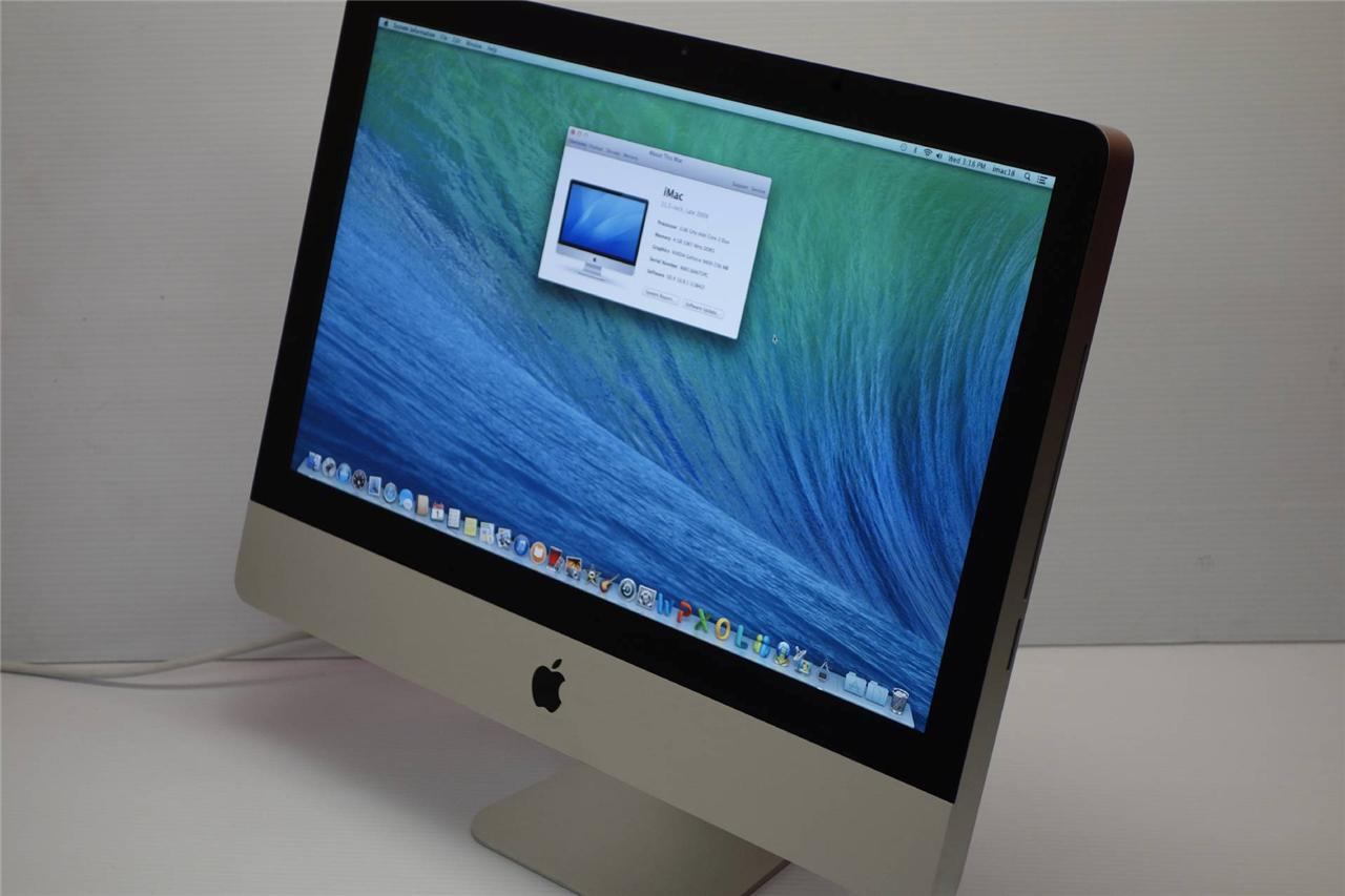 apple imac 21 5 inch 2010 ghz 4 gb 500 gb office. Black Bedroom Furniture Sets. Home Design Ideas