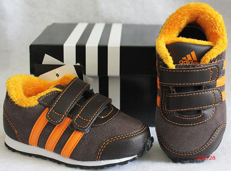 NEW-GENUINE-ADIDAS-BROWN-BABY-TODDLER-GIRL-SHOES-TRAINERS-UK-4-5-6-7-8-9