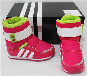 BRAND NEW 100% AUTHENTICGENUINE ADIDAS ZAMBAT INFANT GIRLS BOOTS