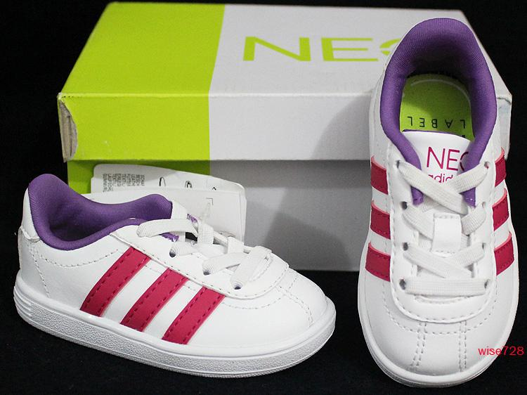 NEW-GENUINE-ADIDAS-BABY-TODDLER-GIRLS-SHOES-TRAINERS-WHITE-PINK-UK-3-4-5-6-7-8-9
