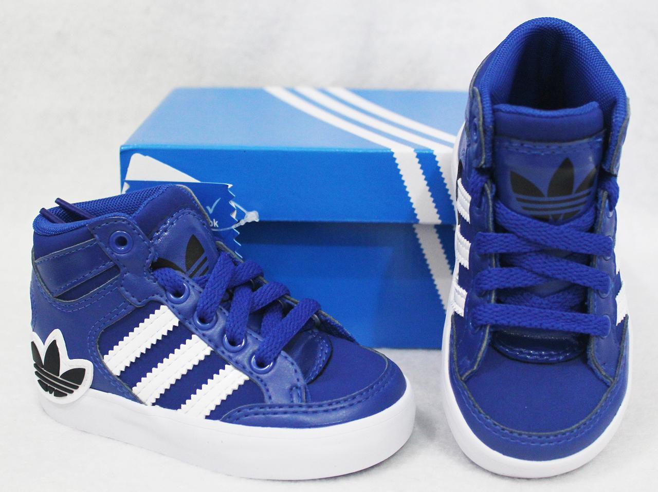 ADIDAS-ORIGINALS-HARD-COURT-HI-BABY-TODDLERS-KIDS-BOYS-SHOES-BLUE-US-5-10