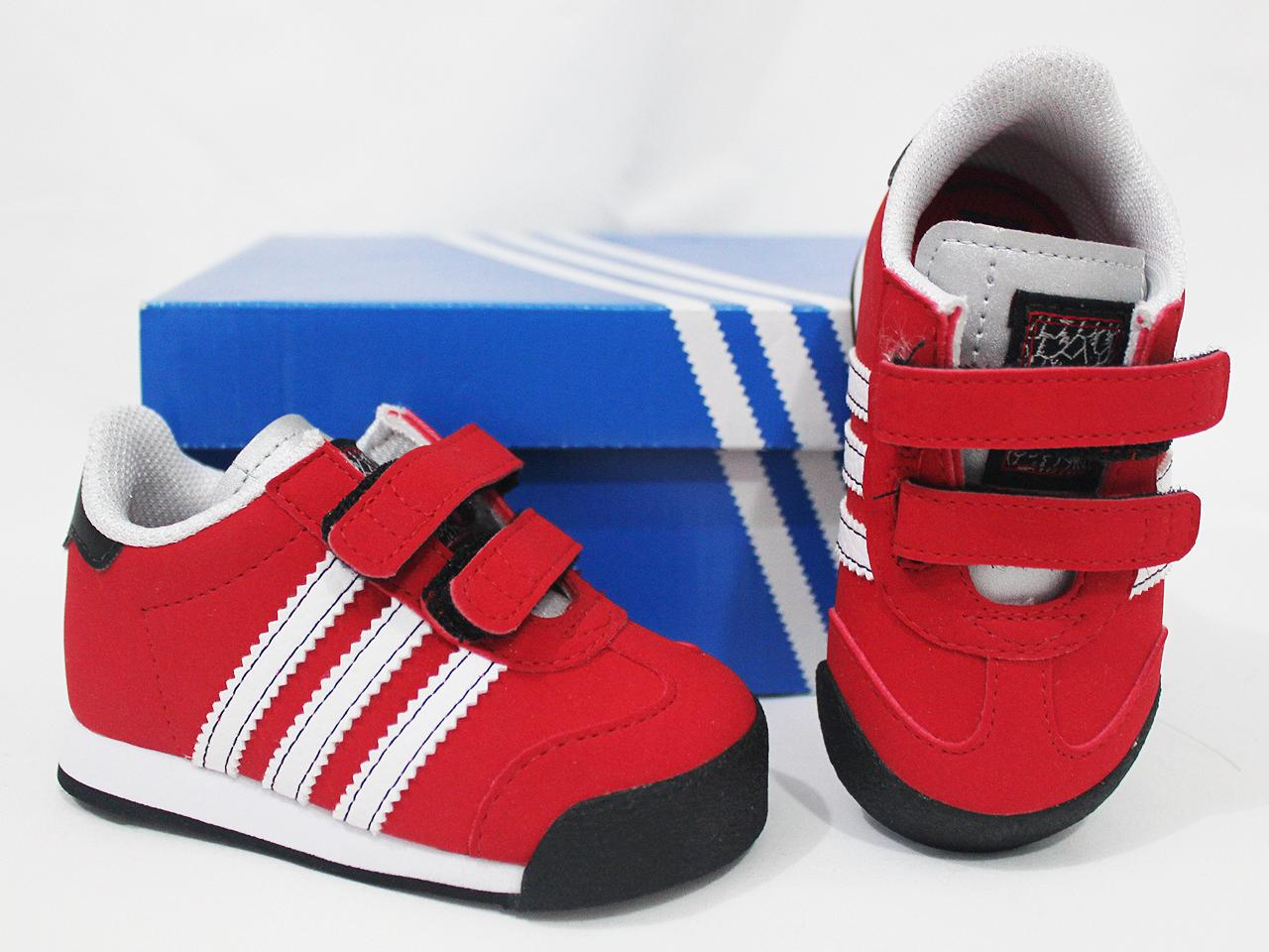 ADIDAS-ORIGINALS-SAMOA-BABY-TODDLER-KIDS-SHOES-US-4-5-6-7-8-9-10-RED-BLACK