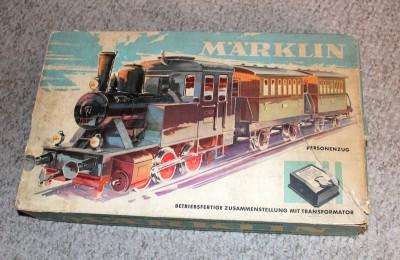 Marklin vintage train set instructions