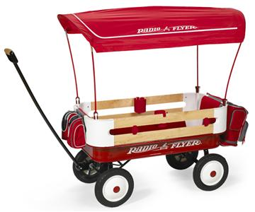radio flyer ultimate classic red wagon canopy pad ebay. Black Bedroom Furniture Sets. Home Design Ideas