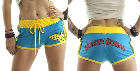 Wonder Woman Superhero Girl Hot Sexy Black Cheeky Summer Boy Ass ...