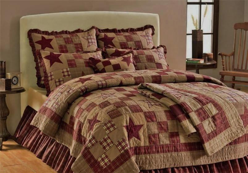 Americana Bedding Collection For Double Beds