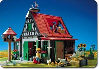 Playmobil western 3122 farm and barn super set 3716 3718 for La granja de playmobil precio