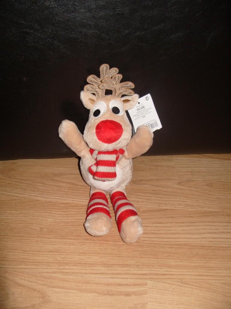 New-NEXT-CHRISTMAS-REINDEER-Comforter-Baby-Soft-Toy