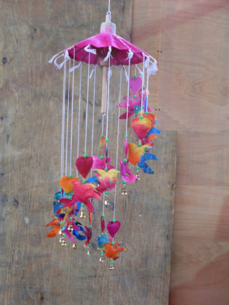 Fairtrade paper mobile nursery brand new10 variations for Bird mobiles for nursery