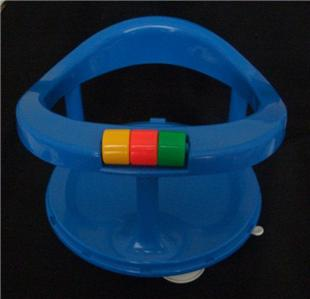 safety first 1st baby bath tub swivel seat ring chair blue suction ebay. Black Bedroom Furniture Sets. Home Design Ideas