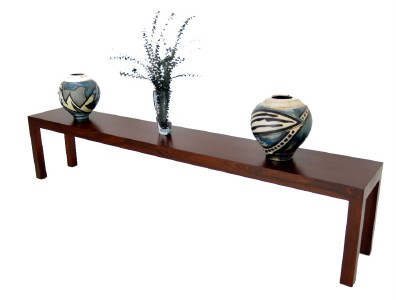 Extra Long Rosewood Display Console Coffee Table Ebay