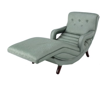 Mid century modern adjustable lounge chaise chair ebay for Mid century modern chaise lounge chairs