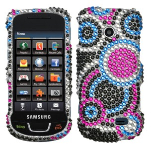 Diamond Bling Hard Case Phone Cover Straight Talk Samsung T528G | eBay
