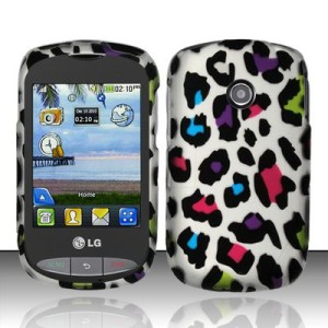 For TracFone Net10 LG 800g HARD Protector Case Snap On Phone Cover