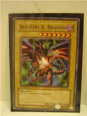 YUGIOH RED EYES B  DRAGON SD1-EN002 YU-GI-OH 1st Edition