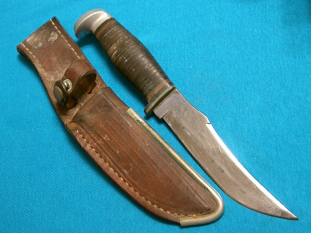 Big vintage 39 20 64 case xx hunting fishing skinning for Case fishing knife