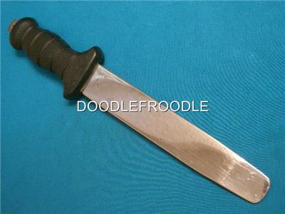 Vintage wenoka 9094 abalone scuba divers navy seal diving survival knife pry bar ebay - Navy seal dive knife ...