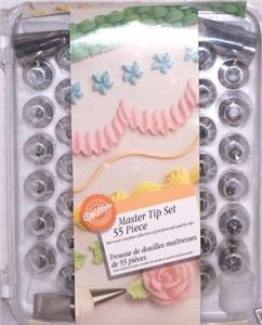 WILTON 56 Piece Cake Decorating MASTER TIP Set NEW eBay