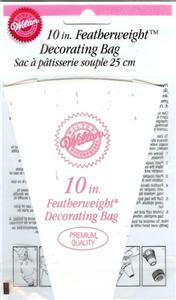 Wilton Cake Decorating Bag Instructions : WILTON Premium FEATHERWEIGHT 10