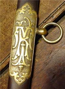 Masonic Knights Templar Sword & Scabbard M.C.Lilley & Co..