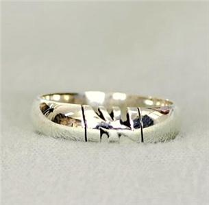 Personalized Sterling Silver Name Ring Promise Ring Ebay