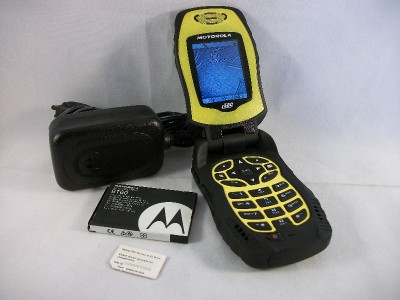 Motorola I580 Yellow Nextel Rugged Cell Phone Direct Talk