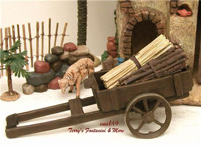 fontanini italy 5 retired 18pc nativity village accessory. Black Bedroom Furniture Sets. Home Design Ideas