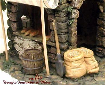 fontanini italy 5 retired bakery 1996 nativity village. Black Bedroom Furniture Sets. Home Design Ideas
