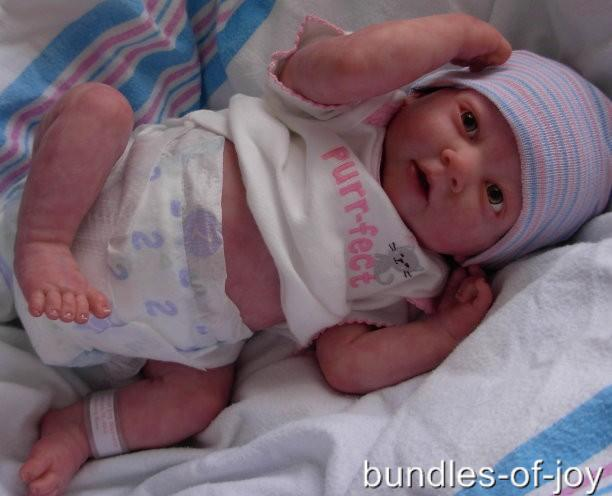 Custom Made Reborn Doll Preemie Berenguer Bundles Of Joy
