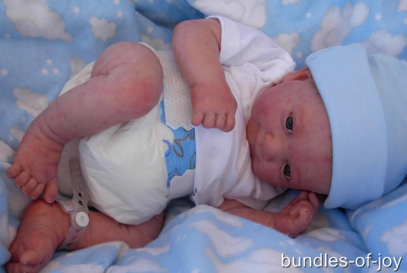 Custom Made Reborn Doll Preemie Berenguer Bundles of Joy ...