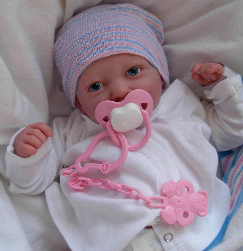 Details about custom made reborn doll preemie berenguer bundles of joy