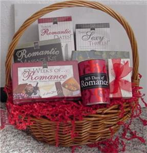 Wedding Gift Basket For Him : Year of Love Romantic Wedding Gift Basket for him her orcouple