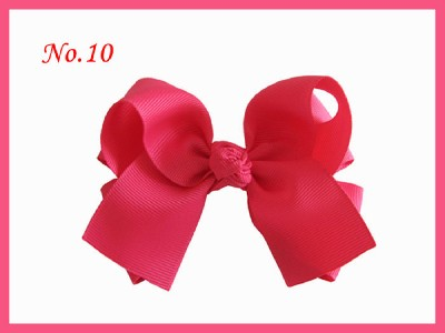 50 Girls 4.5 inch Wendy Boutique Butterfly Hair Bow Clip 3 Styles 100
