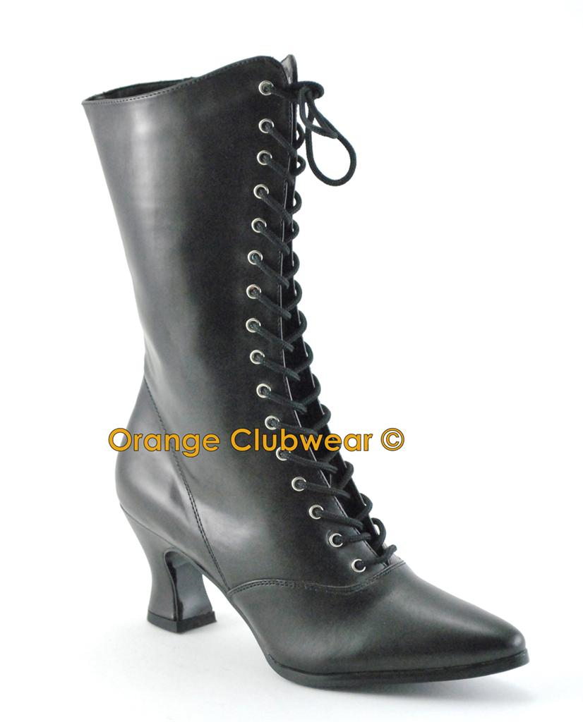 Pleaser Womens Victorian Wild West Old Fashioned Costume Style Boots Shoes Ebay