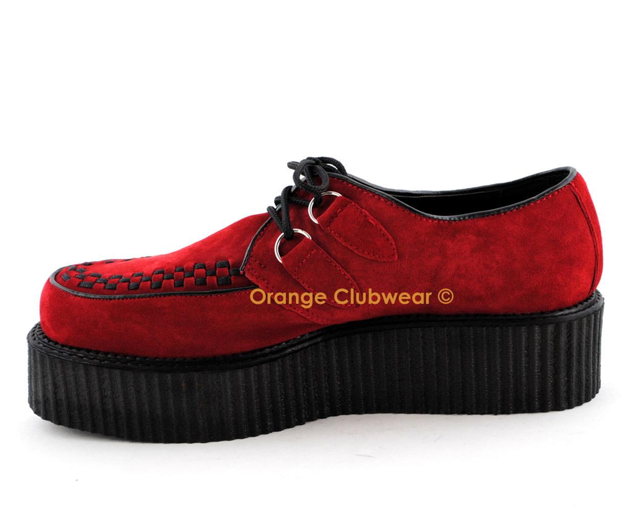 Crepper Shoes for BURNING MAN Demonia Alternative Gothic Shoes, Here's were you will find all your special Burning music festival.