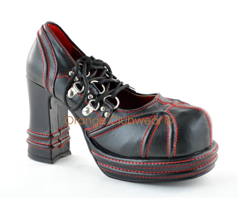 Gothic High Heel Boots
