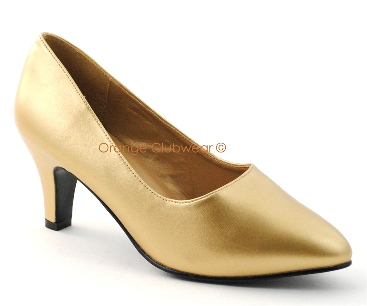 pleaser 420 3 quot high heels gold pumps wide