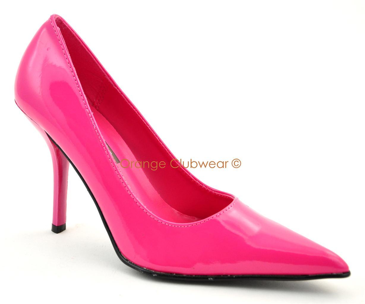 pleaser fuschia high heels womens evening pumps ebay