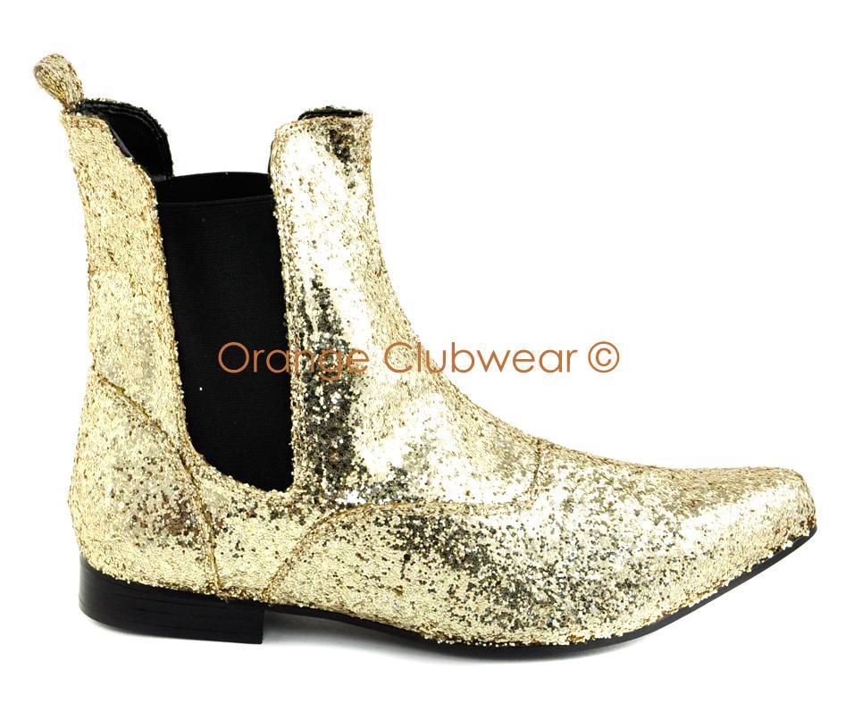 pleaser mens glitter rockstar costume shoes ebay